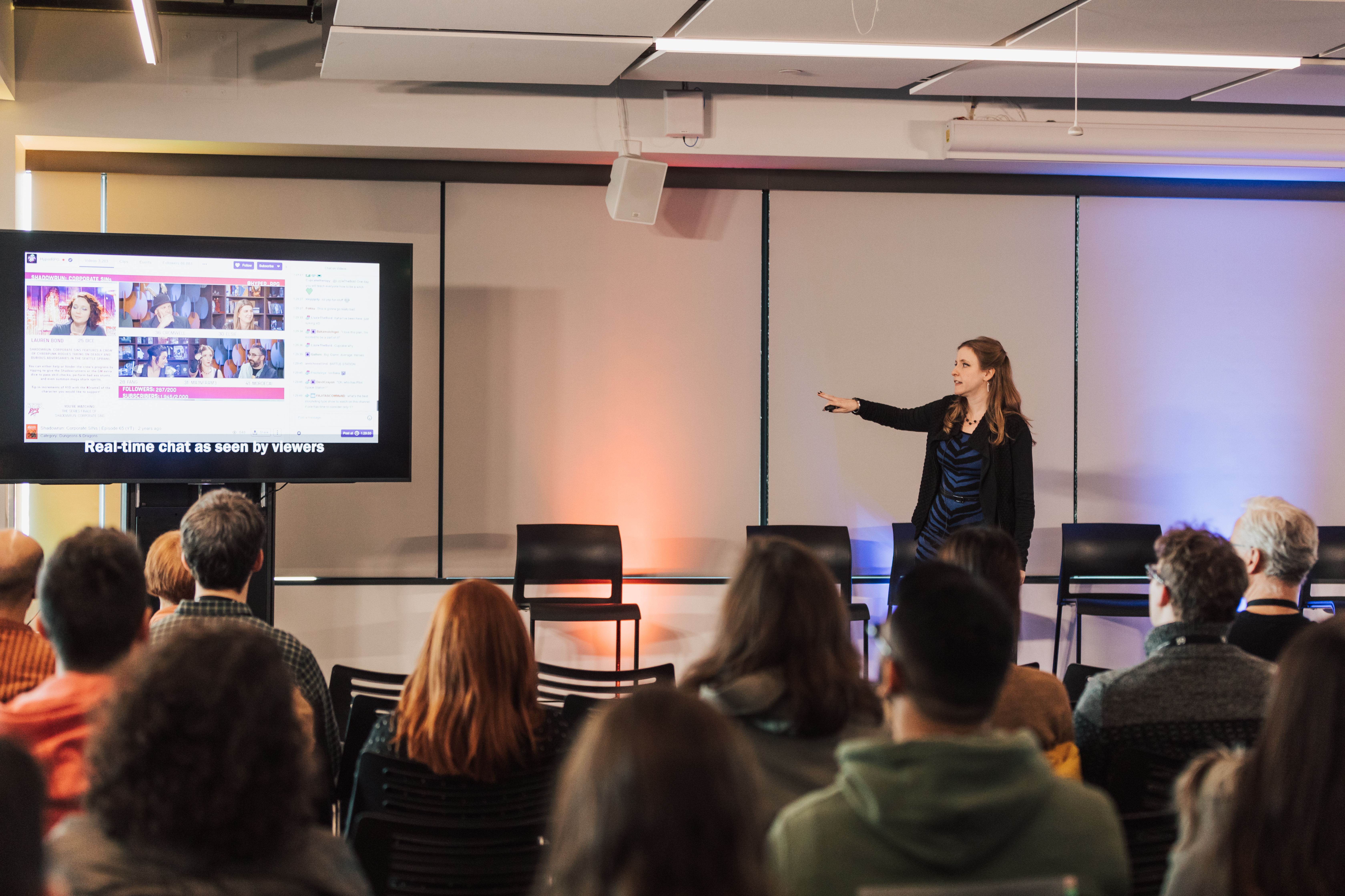 IxD19 video now available: lessons from digital broadcast communities
